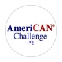 American Challenge Button